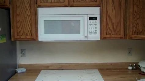 how to install the range microwave without a cabinet install microwave bestmicrowave