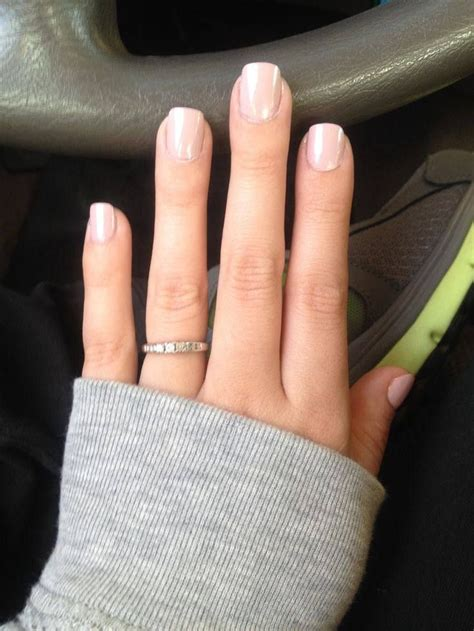 natural  acrylic nails ideas