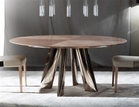 Modern Dining Room Tables Italian Nella Vetrina Costantini Dress 9285tr Modern Italian Dining Table