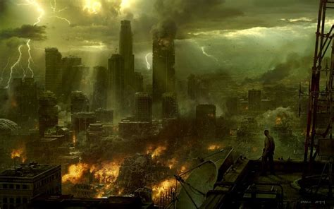 libro abandoned planet destroyed city backgrounds wallpaper cave