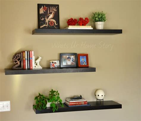 how to decorate a wall shelf 50 best images about floating shelves on pinterest