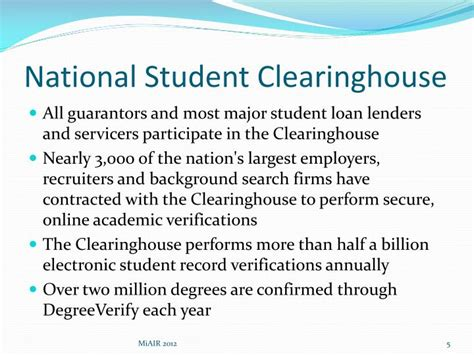 student loan clearing house student loan clearing house 28 images ppt use and