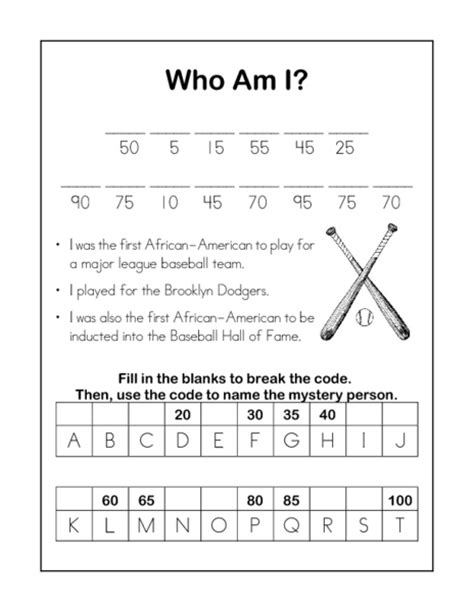 printable worksheets on jackie robinson search results for math word problems for 4th grade
