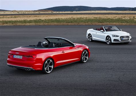 convertible audi 2018 audi rs5 cabriolet rendered autoevolution