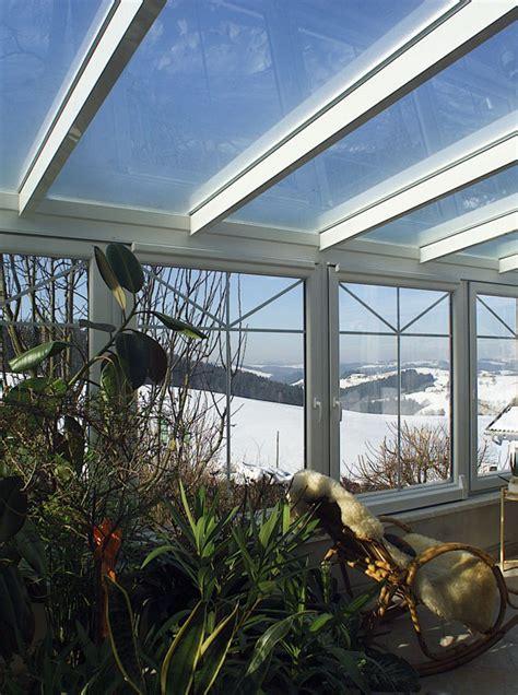Sichtschutz Fenster Pflanze by Sichtschutz Windschutz Mit Einem Wintergarten Oder