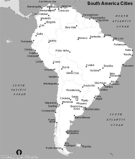 black and white map of usa with cities free south america cities map black and white cities map