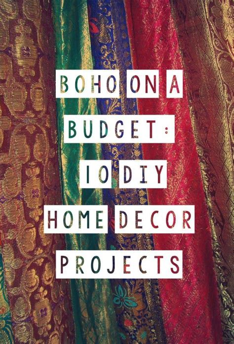 bohemian boho on a budget 2 10 diy home