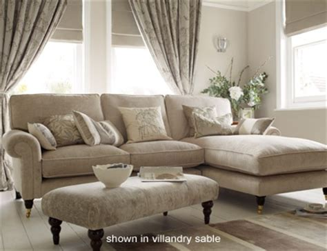 laura ashley settee sale kingston upholstered chaise end sofa right hand facing