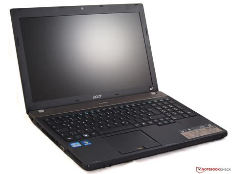 review acer travelmate 6595 2524g50mikk notebook notebookcheck net reviews