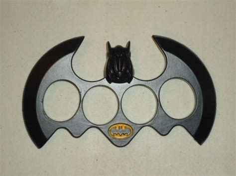 brass knuckle blades batman brass knuckle duster with sided blade