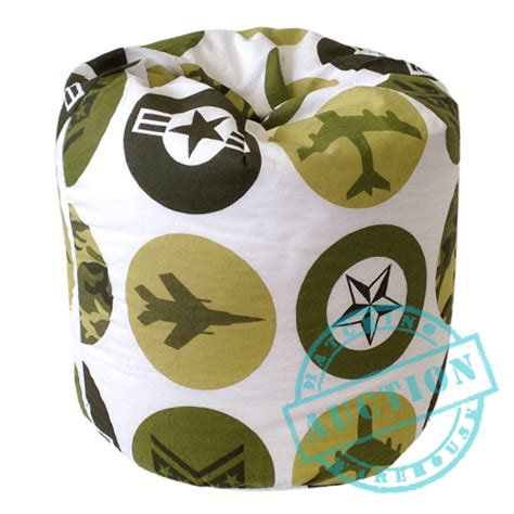 Camo Bean Bag Chair by Large Army Camouflage Childrens Filled Beanbag Chair
