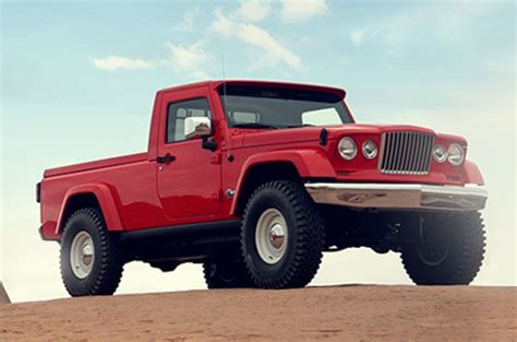 jeep track jeep is releasing a truck in 2017