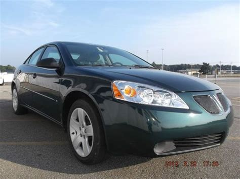 pontiac g6 base buy used 2007 pontiac g6 base sedan 4 door 2 4l in seekonk