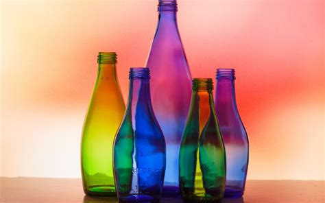 colorful glass wallpaper download wallpaper 1280x800 colorful glass bottles light