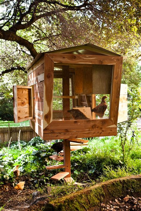 coolest chicken coops  fashioned families
