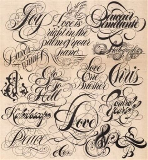 tattoo font patterns the art of choosing the perfect font and lettering for a