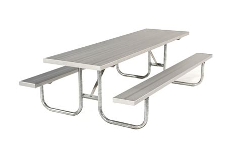tfgl picnic table frame galvanized light outdoor