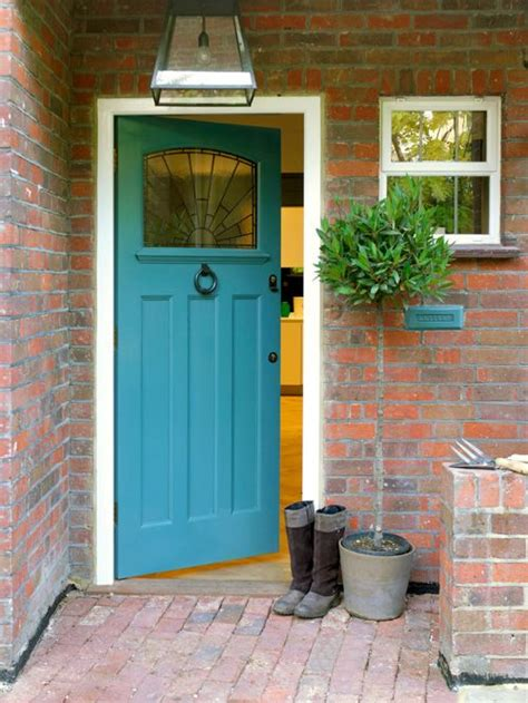 Houzz Front Door Colors Brick And Front Door Home Design Ideas Pictures Remodel And Decor
