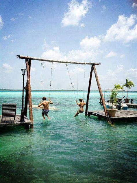 beach swings beach swings swings pinterest