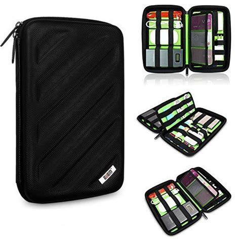 Dompet Shockproof Mesh Travel Organizer bubm portable drive travel organizer electronics accessories cables accessories