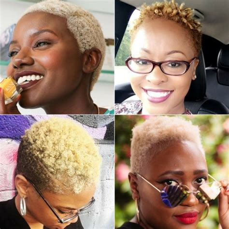 twa with thin hair 40 twa hairstyles that are totally fabulous blonde twa