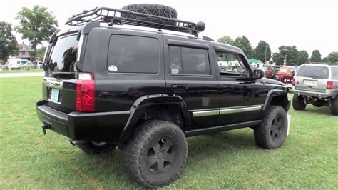 Jeep Commander 4 Inch Lift Kit Jeep Commander Xk On Big Lift And 35 Inch Tires
