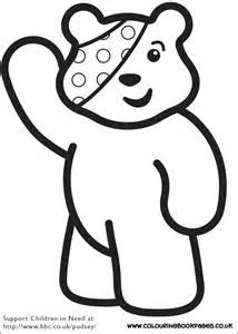 Pudsey Template Printables by Printable Children In Need Pages 2 More Homeschooling