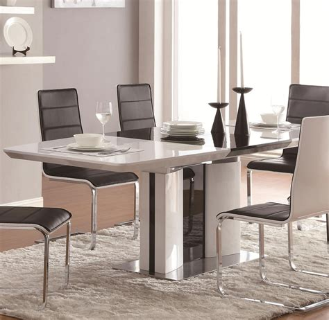 modern dining sets modern dining table co41 modern dining