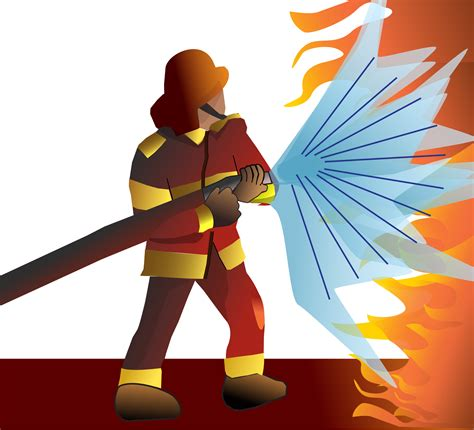 firefighter clipart firefighter clipart pencil and in color firefighter