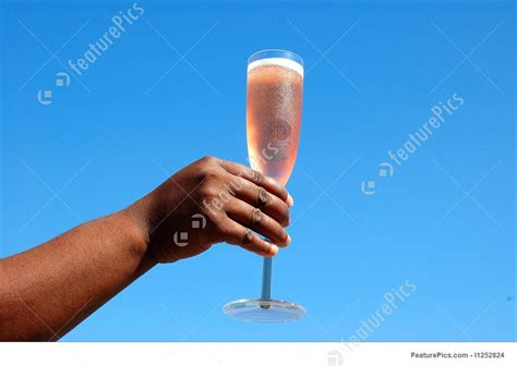 Black Hand With Champagne Glass Photo Free Clip Art Christmas Words
