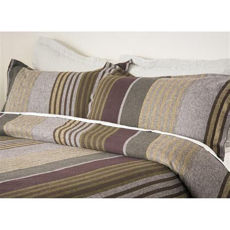 design port cadwell stripe brushed cotton duvet cover