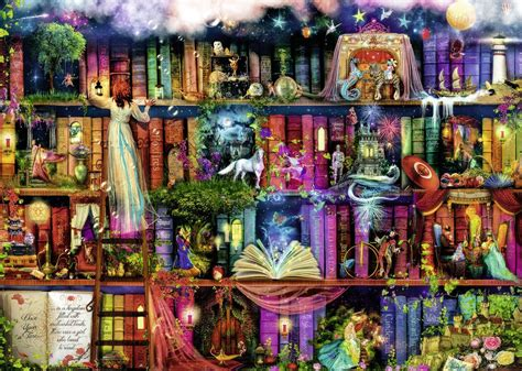 themes of colin s story fairytale fantasia 1000pc jigsaw puzzle ravensburger