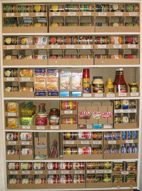 Food Pantry Organizers grid home sweet home survival and preparedness plan