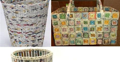 cara membuat kerajinan wayang dari koran cara membuat kerajinan dari koran bekas beserta gambarnya