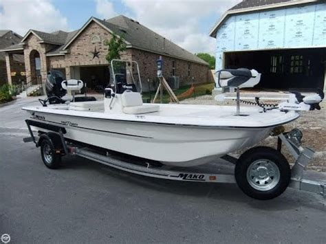 mako boats san antonio sold used 2013 mako 17 center console in san antonio