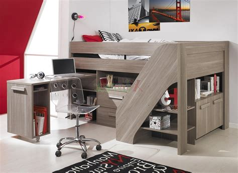 loft bed with desk and stairs loft beds for furniture ideas