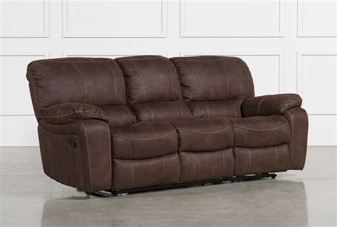 reclining sofas langdon reclining sofa living spaces