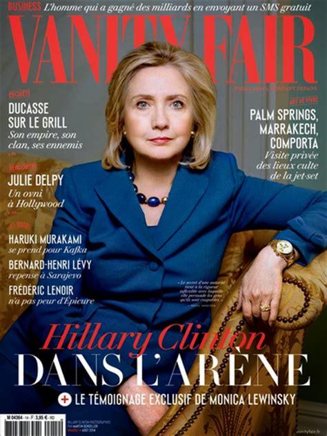 clinton covers vanity fair august 2014