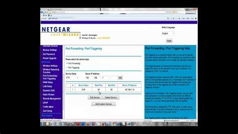 forwarding netgear netgear forwarding