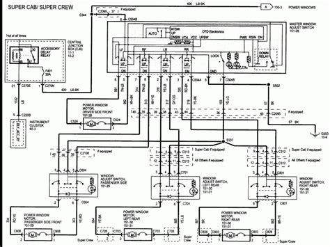2005 ford f150 power window wiring diagram wiring diagram