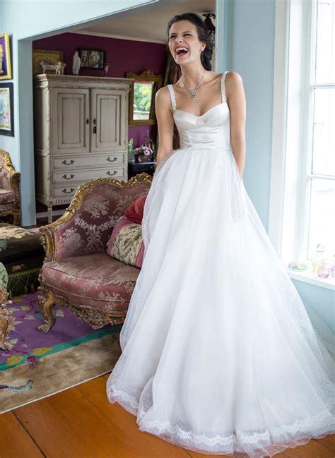 Pretty Wedding Dresses by Pretty Bustier Wedding Dress Schimmel Nz Bridal