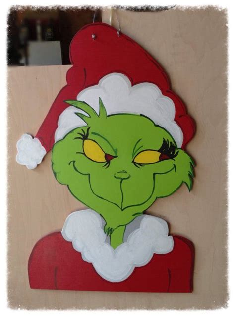 wood pattern of grinch grinch wood yard art patterns woodworking projects plans