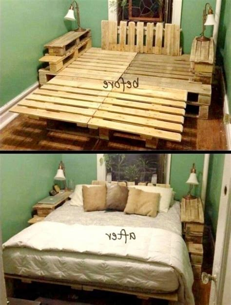 bed on pallets pallet bed frame instructions the partizans