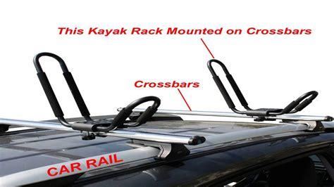 J Racks by Apontus Universal Kayak Roof Rack J Bar 2 Pairs