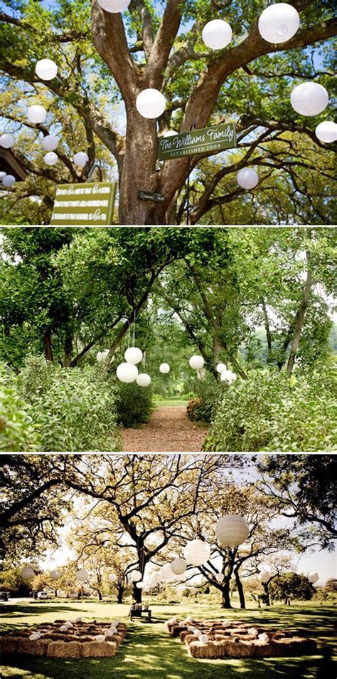 Five Ways to Decorate Your Garden Ceremony   Anniversary