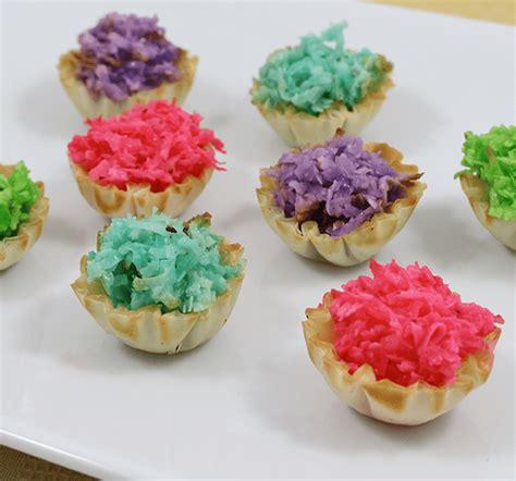 appetizers baby shower baby shower appetizers pastel macaroon phyllo tartlets
