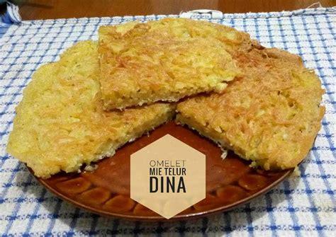 resep omelet mie telur oleh dapur dien cookpad