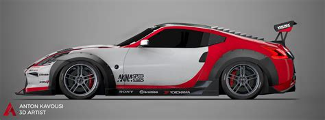 nissan 370z widebody anton kavousi nissan 370z widebody