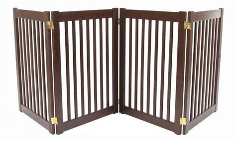 large gates indoor gate wood freestanding indoor barrier large 27 quot or 32 quot big fence ebay