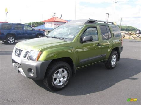 2012 metallic green nissan xterra s 4x4 84478144 gtcarlot car color galleries